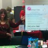 Mrs. Anna Kaplan at a Health Fair in 2011